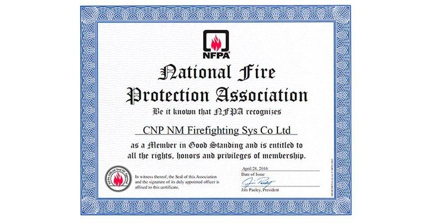 thành viên NFPA