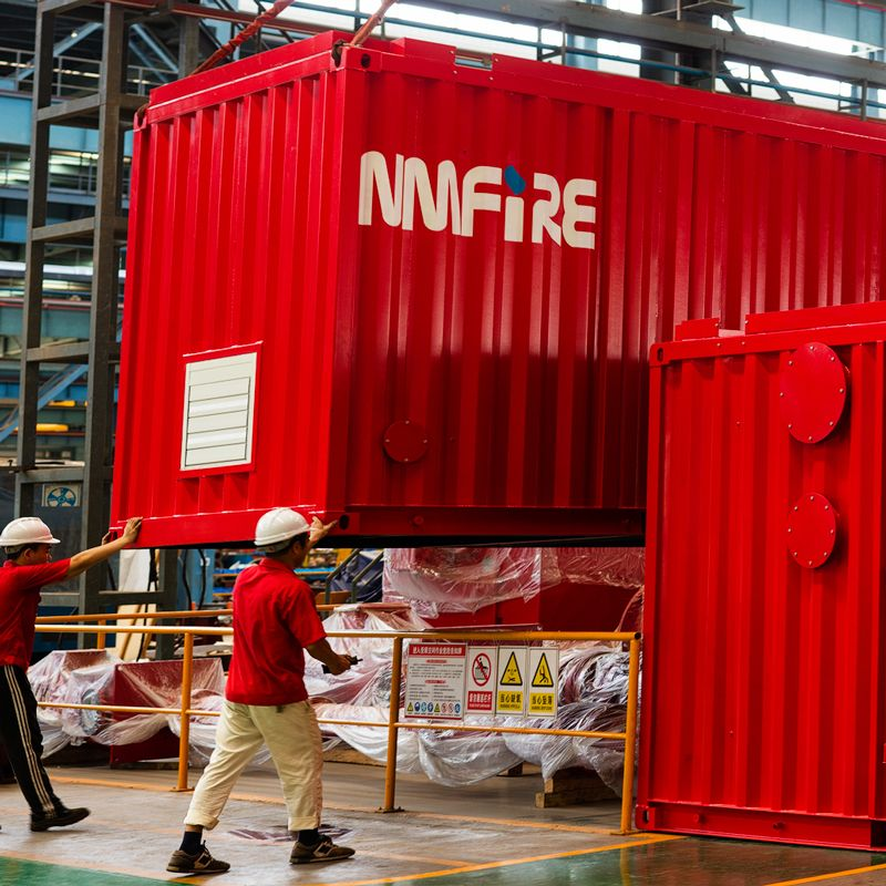 NFPA20 containerized Pump Sets Fire-şer