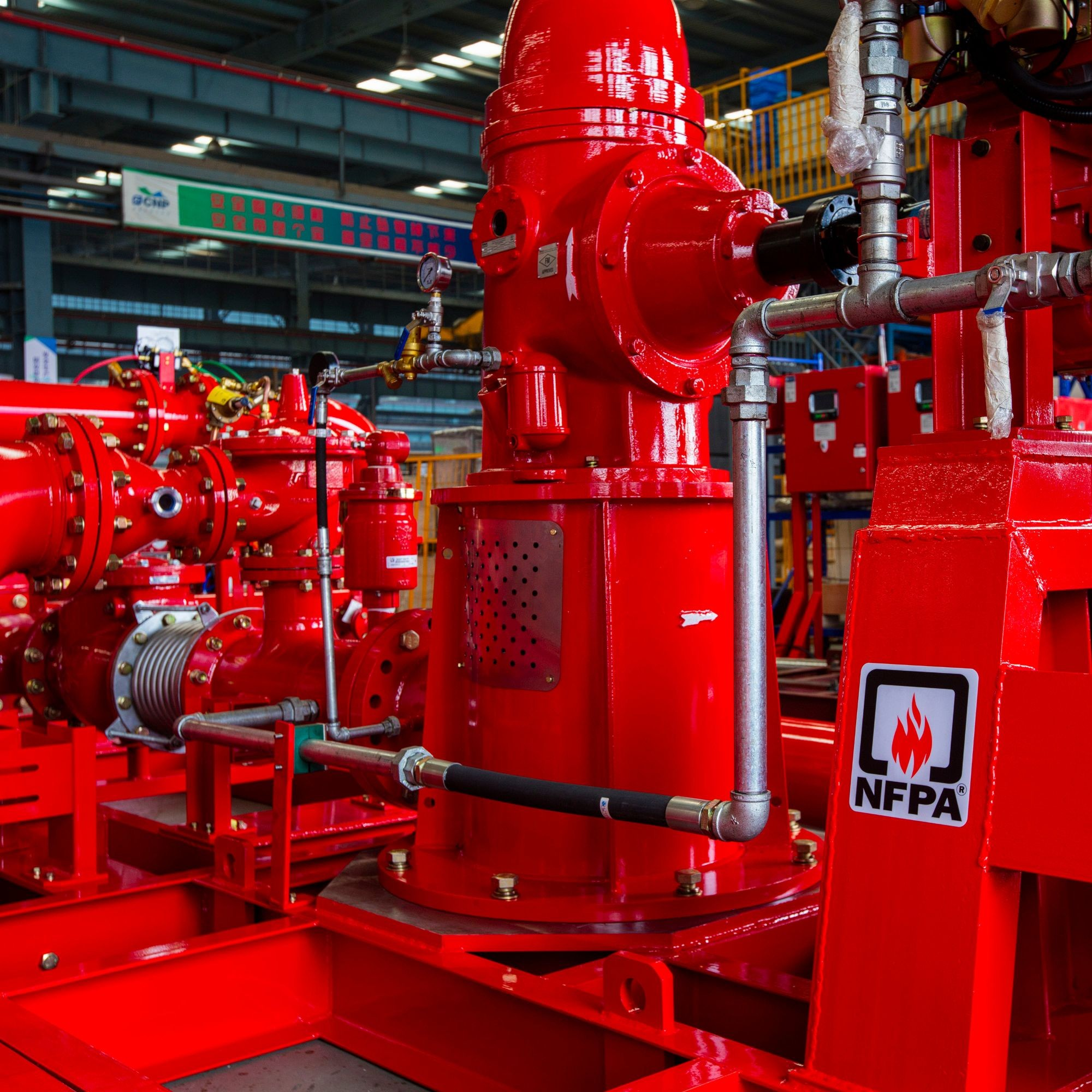 Turbine Vertical Fire Pump Group