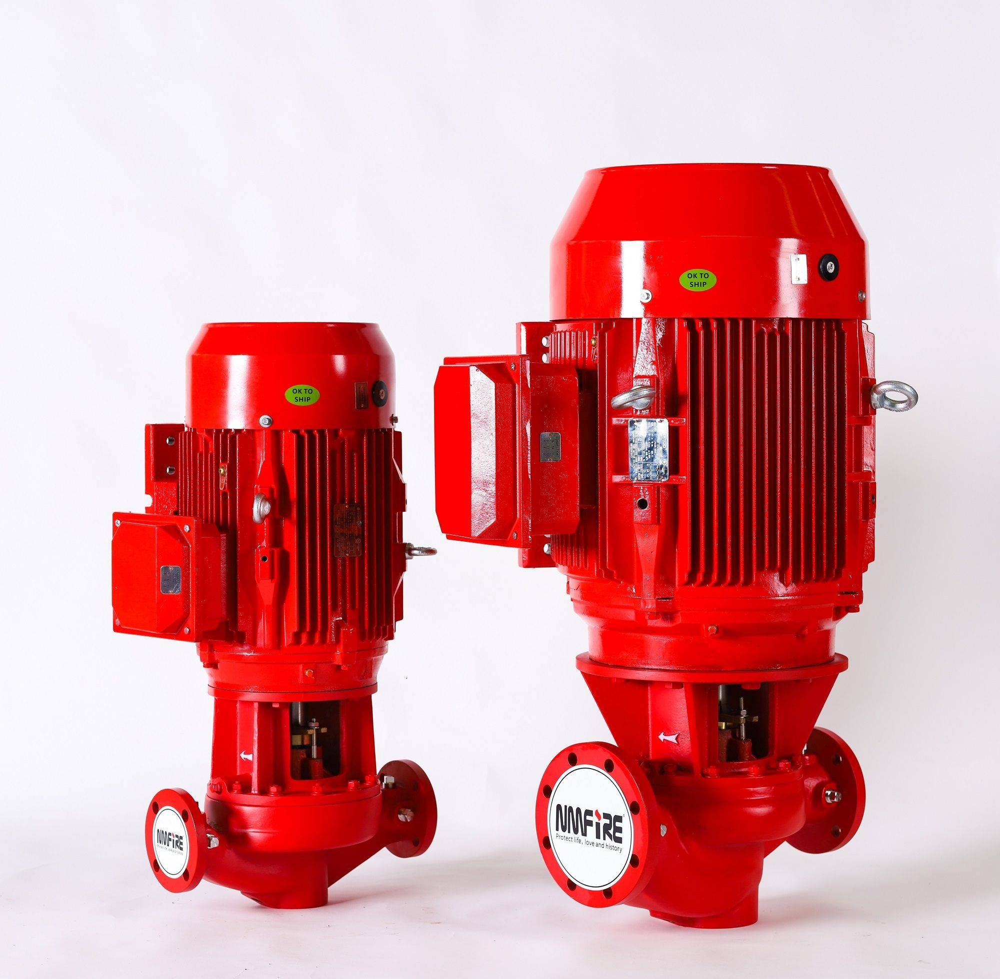 Centrifugal Fire Pumps In-Line Type